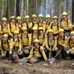 wildland firefighter recruits boot camp 2011