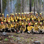 wildland firefighter recruits boot camp 2011 with squad bosses