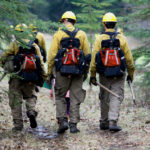 wildland firefighters finished training