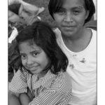 two girls at the Casa Hogar Alegre