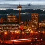 Calgary Tower Sunset