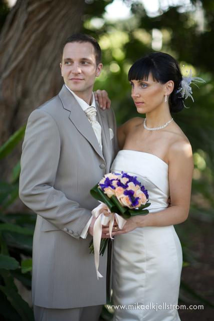 bride and groom gran canaria