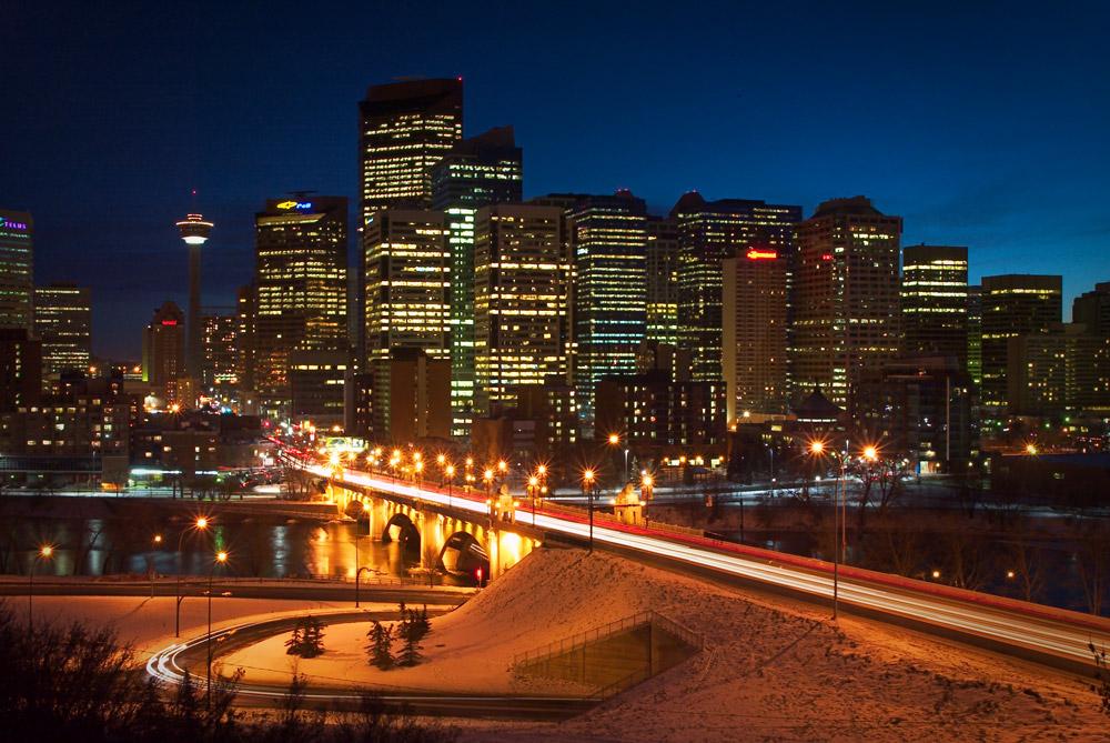 Calgary Downtown Cityscape Photo